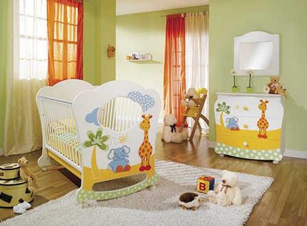 Muebles para decorar el cuarto del bebé   Infantil - Decora Ilumina