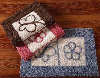 Modelos de alfombras para el ba o alfombras decora ilumina - Alfombras bano originales ...