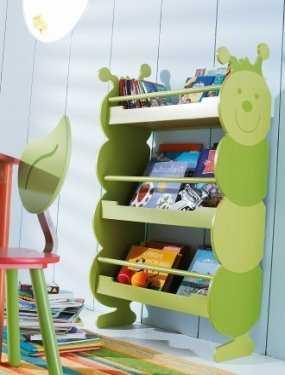 Organizadores de libros o bibliotecas para tu hogar for Mueble libreria infantil