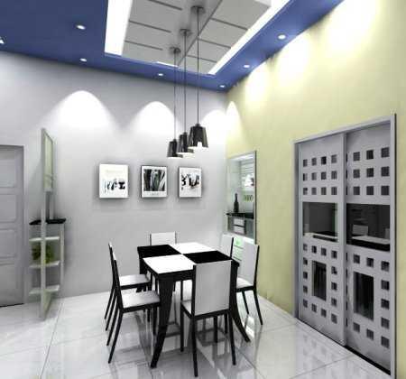 Un comedor en blanco y negro comedor decora ilumina for Alfombras comedor amazon