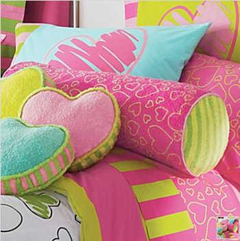 Cojines para decorar el cuarto de las ni as infantil - Como colocar cojines en la cama ...