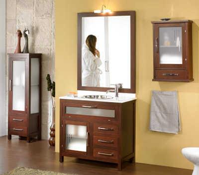 Muebles para el ba o ba o decora ilumina for El mueble banos pequenos