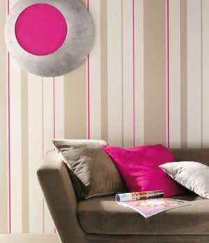 Papeles pintados de rayas tendencias decora ilumina - Papel de pared gris ...