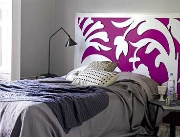 Originales cabeceros dormitorio decora ilumina - Cabeceros con cojines ...