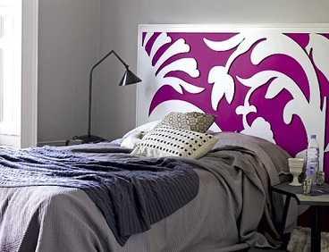 Originales cabeceros dormitorio decora ilumina - Cabeceros tapizados originales ...