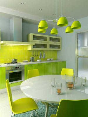 Diseño de cocinas en color verde | Cocina - Decora Ilumina