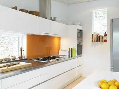 Cocinas integradas al sal n cocina decora ilumina - Revestimientos de cocinas modernas ...