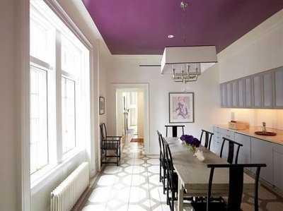 ten en cuenta que aunque no sea blanco el techo siempre parecer ms alto si eliges para pintarlo un color ms claro que las paredes