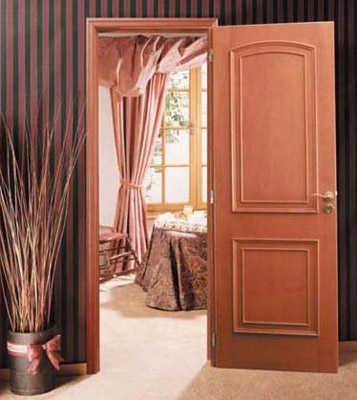 Dise os de puerta para habitaci n dormitorio decora for Puertas en madera para interiores