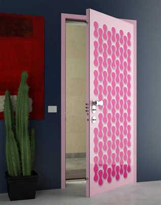 Dise os de puerta para habitaci n dormitorio decora for Disenos navidenos para decorar puertas