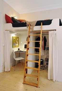 Soluciones invisibles para estudios o apartamentos tip for Como decorar un estudio de 20 metros cuadrados
