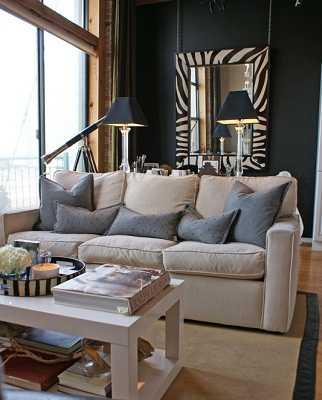 El negro en la decoración de tu hogar | Tip Del Dia - Decora Ilumina