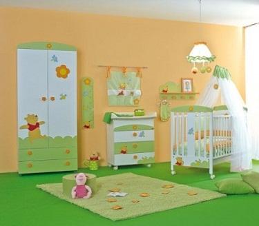Dormitorios unisex para tu beb infantil decora ilumina for Habitaciones infantiles unisex
