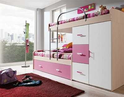 Camás versátiles para dormitorios de niños y adolescentes ...