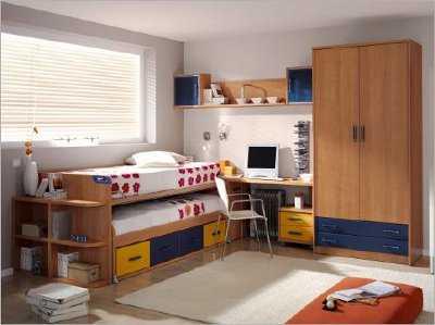 Habitaciones poco espacio