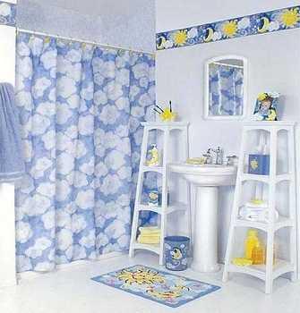 Ideas divertidas para decorar el dormitorio de los Estanteria bano adhesiva