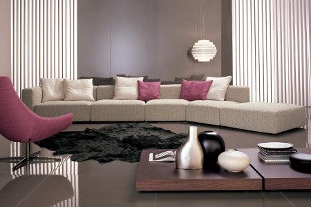 Muebles modernos para mi sala muebles decora ilumina for Muebles de departamento