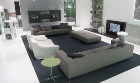 Muebles modernos para mi sala muebles decora ilumina for Sofas pequenos y comodos