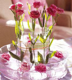Centros de mesa con flores para el comedor de diario - Centros de mesa de comedor originales ...