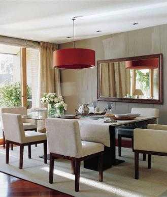 Ideas para decorar el comedor comedor decora ilumina - Lamparas de comedor ...