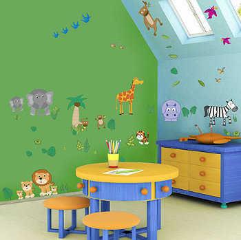 C mo elegir los colores para pintar la habitaci n - Pintar habitacion infantil nino ...