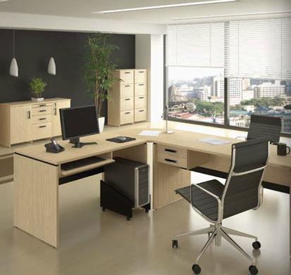 Dise os de escritorios ejecutivos oficina decora ilumina for Modelos de escritorios para oficina