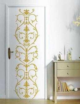 Renueva las puertas de tu casa con poco presupuesto tip - Decorar cristales de puertas ...