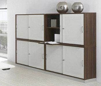 Decorando el hogar muebles de oficina - Armarios de oficina ...