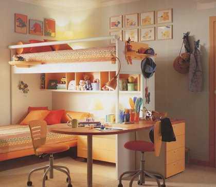 C mo elegir colores y pinturas para una habitaci n for Habitaciones con literas