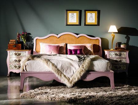 Ideas para decorar un dormitorio femenino estilo vintage for Actualizar dormitorio clasico