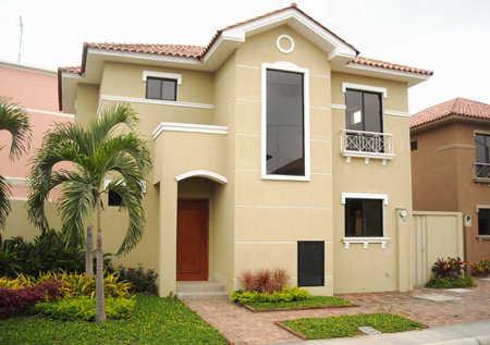 Decora el exterior de tu casa tu fachada es importante for Colores para pintar una casa pequena