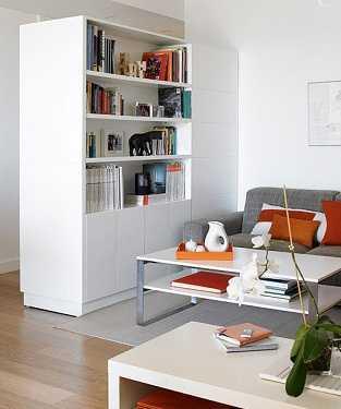 Librer as a medida para solucionar problemas de espacio - Librerias de pared ...