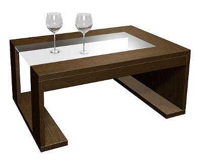 Modelos de mesas de centro para sala sala decora ilumina for Mesas de madera para sala