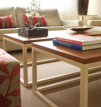 Complementos decorativos para tu mesa de centro sala - Que poner encima de una comoda ...