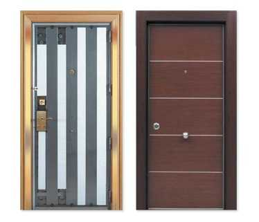 Puertas portadas portones de todos los estilos imagui for Puerta blindada casa