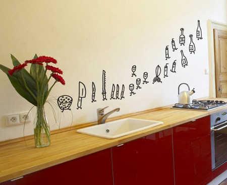 Sencillas ideas para pintar y darle un nuevo aspecto a tu - Como decorar una pared de cocina ...