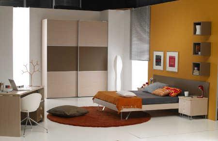 Habitaciones juveniles tendencias e ideas para la for Dormitorios modulares matrimoniales