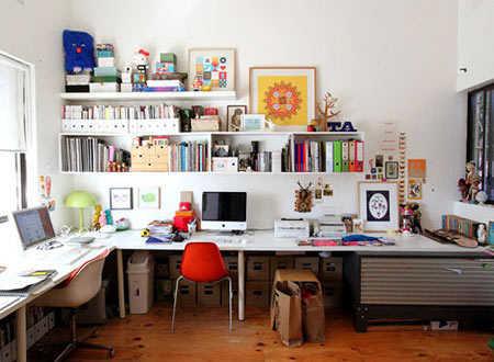 5 ideas para crear una oficina en casa oficina for Decoracion de oficinas creativas