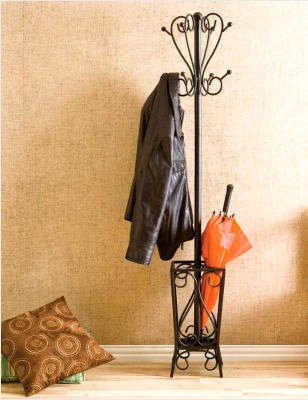El perchero para ordenar la entrada de la casa sala for Modelos de percheros