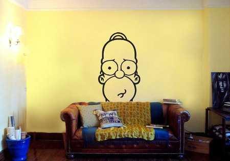 Decorando el hogar vinilos para habitaciones - Dibujos para decorar paredes de dormitorios ...