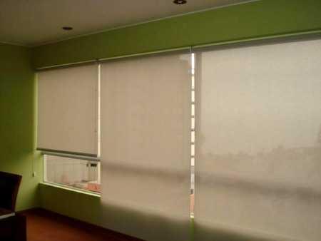 estores este tipo de cortina es el ideal para espacios pequeos como el roller una tela se extiende por la ventana cubrindola en su totalidad y se