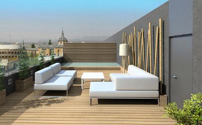Ltimas tendencias para decoraci n de terrazas terraza - Como decorar una terraza grande ...