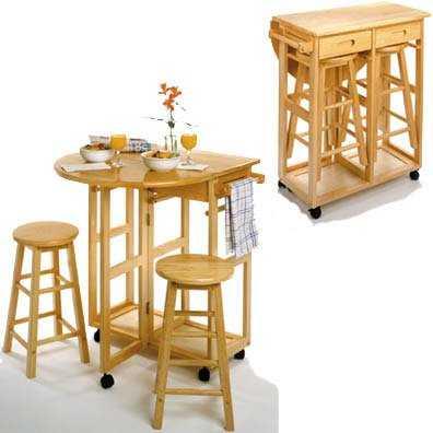 Pr cticas mesas para tu comedor de diario comedor - Mesas auxiliares para cocina ...