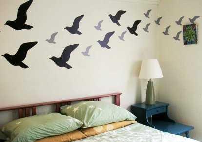 Decoración de paredes con esténcil, ¡renueva tu decoración ...