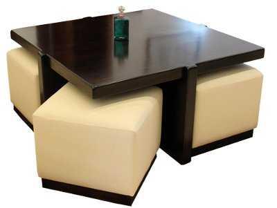 Mesas de centro modelos funcionales sala decora ilumina for Mesa centro puff