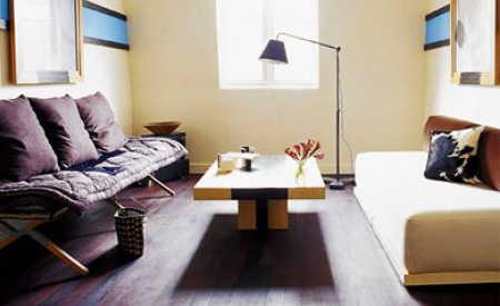Decoraci n minimalista para salas peque as sala decora for Salas minimalistas pequenas