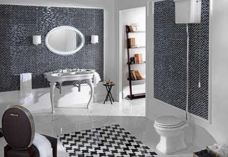El color perfecto para ba o ba o decora ilumina for Como fijar un inodoro al piso