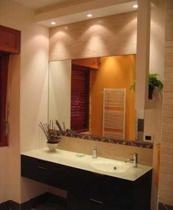 El color perfecto para ba o ba o decora ilumina - Espejos grandes para pared ...