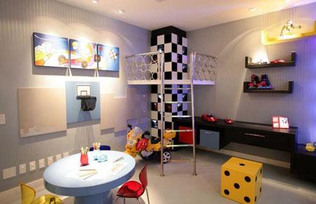 Madriguera del lobo solitario ideas para decorar el for Decoracion habitacion nina de 6 anos
