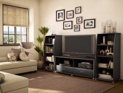 Centros de entretenimiento y muebles para la tv Muebles Decora
